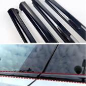 VW  / フォルクスワーゲン純正 Black chrome trim for the bottom of the side window