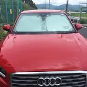 Audi純正(アウディ) フロントガラスシェード&ケース