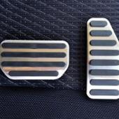 ノーブランド スズキ車対応 アルミペダルカバー(アクセル、ブレーキセット)