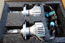 ビークロスHID屋 LEDヘッドライト  H4 Hi/Lo  6500Kの全体画像