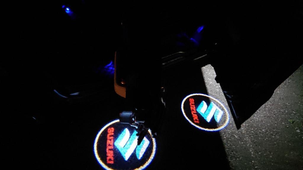 HualuBro LED カーテシ ランプ