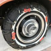 不明 195/70R14 タイヤチェーン 非金属