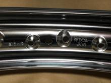 SR400EXCEL H型アルミリムの全体画像