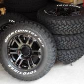 TOYO TIRES OPEN COUNTRY M/T 225/75R-16