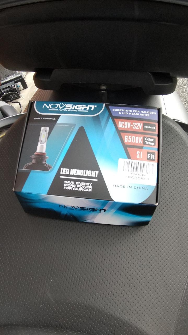 NOVSIGHT LEDヘッドライト