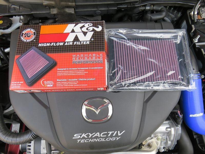 K/&N Panel Air Filter FOR MAZDA 2 DJ 33-5038