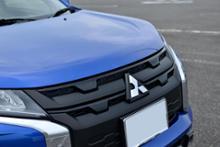 RVR三菱自動車(純正) カーボン調フロントグリルの単体画像