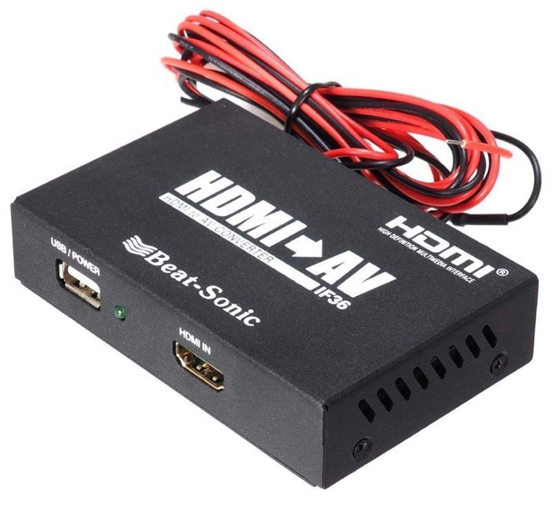 Beat-Sonic HDMI→RCA変換アダプター