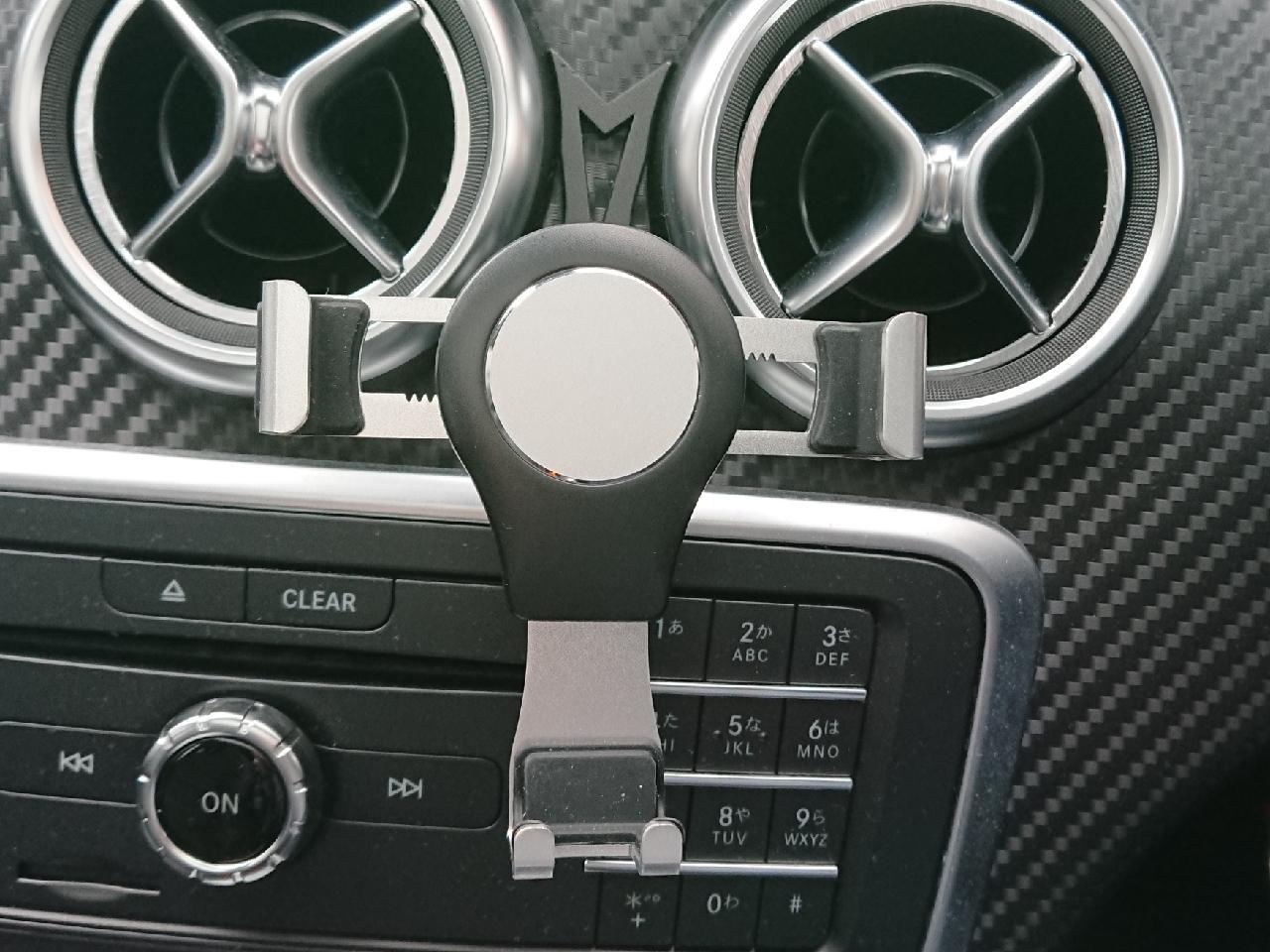 非公認 Mobile Phone Magnetic Holder Stand for Benz GLA CLA A-Class B- Class Car Air Vent Gravity Celll Phon