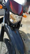 XTZ125Street Cat 改良鍍金版 H4 バイク用ledヘッドライトの全体画像