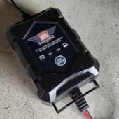 SUPER NATTO バッテリー充電器(6V/12V切替式) PSE新基準対応