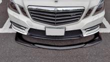 Eクラス セダンMercedes-Benz W212 前期 フロントカーボンリップスポイラーの単体画像