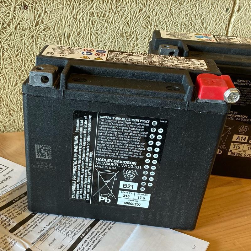 ハーレーダビットソン(純正) AGM Batteries   66000207