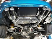 M2 クーペeisenmann REAR MUFFULER〈RACE〉の単体画像