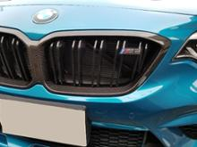 M2 クーペBMW M PERFORMANCE カーボンブラックキドニーグリルの単体画像