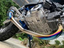 モンキー125OVER RACING TT-Formula フルチタンの全体画像