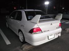 ランサーセディア三菱自動車(純正) ランサーエボリューションⅨ RS リヤスポイラーの単体画像