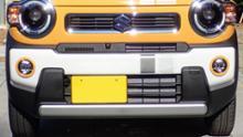 ハスラースズキ(純正) フォグランプベゼルセット アクティブイエロー 71761-59S00-ZWHの全体画像