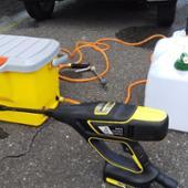 Karcher 充電高圧洗浄機 KHB 5 ハンドヘルドクリーナー