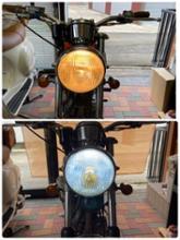 SR不明 LEDヘッドライトの全体画像