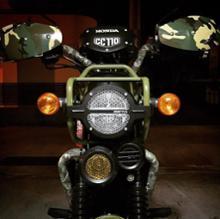 クロスカブ CC110非公認 ヘッドライトガードの単体画像