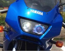 TRX850ヤマハ(純正) FZR用デュアルプロジェクターライトの単体画像