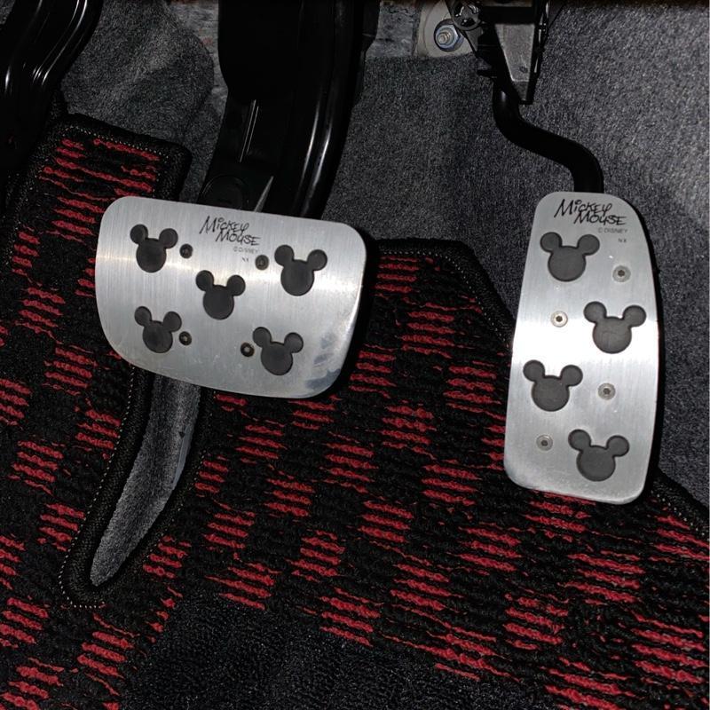 NAPOLEX WD-164 ATペダルセット K <ミッキー>