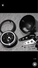エリミネーター250SEヤフオク中華製 エンジェルリング汎用ヘッドライトの単体画像