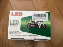 XLR125RKYOUDEN LED バイク 12V 5面発光 ヘッドライトバルブの全体画像