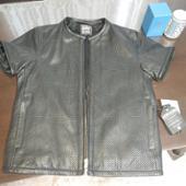 KADOYA パンチングレザージャケット(半袖)