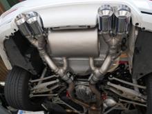 M3 セダンREMUS レムスマフラーの全体画像