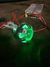 シグナス125AES MT05 HID projector lensの全体画像