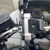 DAYTONA(バイク) スマホホルダー 3 アルミアーム リジット