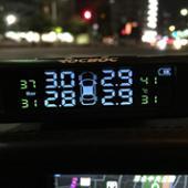 ノーブランド タイヤ空気圧センサー・モニター【音声アラーム】