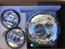 ロイヤルスターSILIVN ハーレーダビッドソン用 7インチ ハーレー LEDヘッドライト 4.5インチ ハーレー フォグランプ Lの単体画像