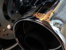 ソフテイルローライダーSCREAMIN'  EAGLE Street Cannon Exhaustの単体画像