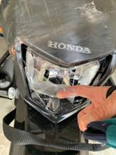 CRF250LAmazon無メーカー品 ヘッドライトの全体画像