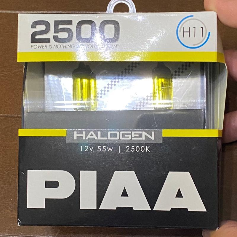 PIAA ハロゲン 2500K イエローバルブ 12V 55W H11