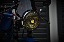 K-16自作 ヘッドランプカバーの全体画像