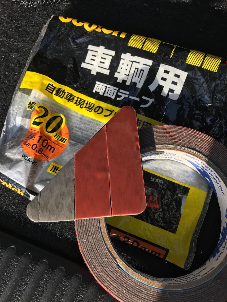 3M / スリーエム ジャパン Scotch 車輌用 両面テープ