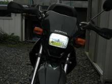 XR50 モタードRTD LEDヘッドライトの全体画像