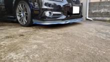 レガシィツーリングワゴン不明 汎用カーボンンタイプスポイラー 青ラインタイプの単体画像