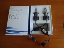 デミオfcl 【fcl.】新型LEDヘッドライト フォグランプ ファンレス(H4 H7 H8 H11 H16 HIR2 HB3 HB4)の単体画像