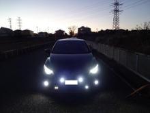 デミオfcl 【fcl.】新型LEDヘッドライト フォグランプ ファンレス(H4 H7 H8 H11 H16 HIR2 HB3 HB4)の全体画像