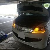 中華製 デイライトシーケンシャルウインカーテープ