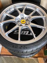 F430 BerlinettaTWS / TAN-EI-SYA WHEEL SUPPLY TWS Motorsport T66-Fの全体画像