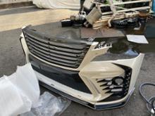 エルフトラックK'spec SILK BLAZE フロントバンパーの全体画像