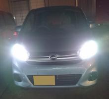 デイズfcl. fcl. ファンレス LED ヘッドライト フォグランプ (H4 H7 H8 H11 H16 HIR2 HB3 HB4)の全体画像