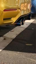 M3 セダンPower Craft ハイブリッドエキゾーストマフラーシステムの単体画像