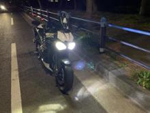 スピードトリプル RSノーブランド Led Headlight Triumph Speed Triple R S Dual H4 H/L Kit  Headlamp Conversionの単体画像